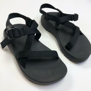 Chacos Womens Size 7 Black Sandals